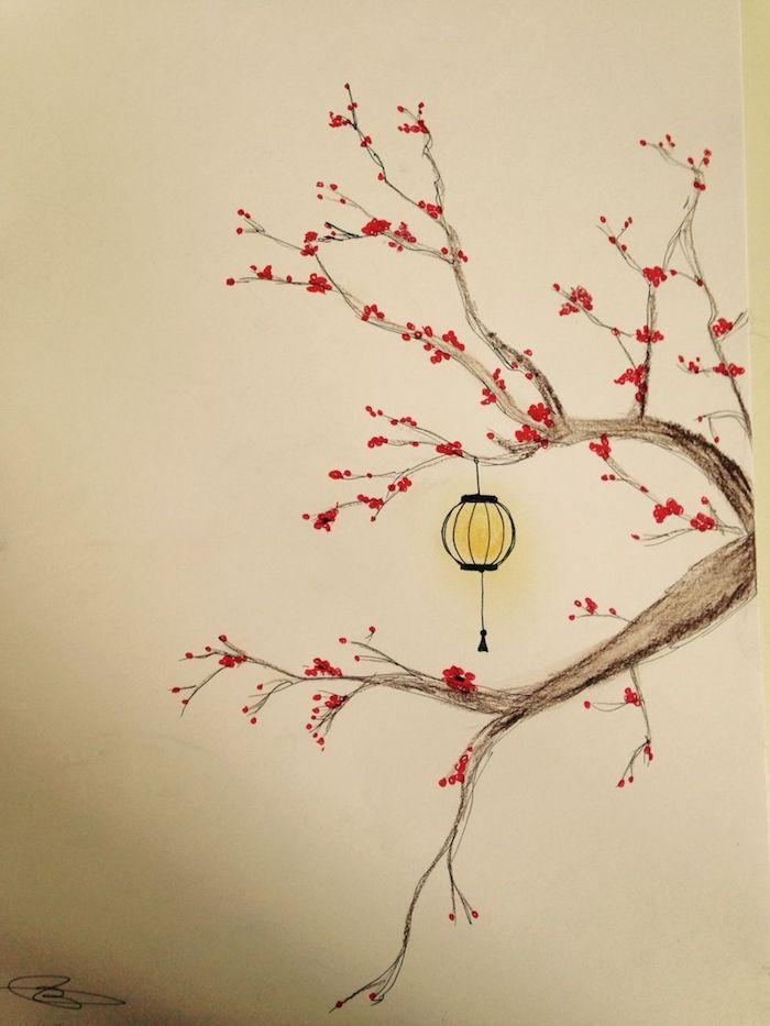 arbol dibujo japones dibujos japoneses antiguos ideas de dibujos chulos y faciles de hacer lampara arbol dibujo