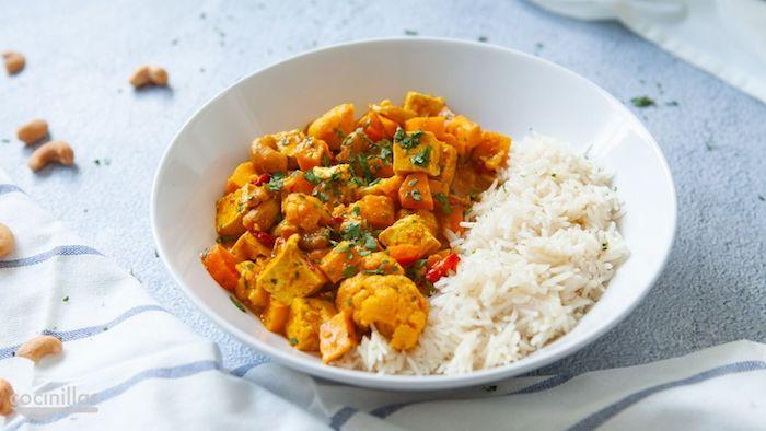 arroz blanco con tofu ricas ideas de recetas con curry sabrosas y faciles de hacer fotos de recetas