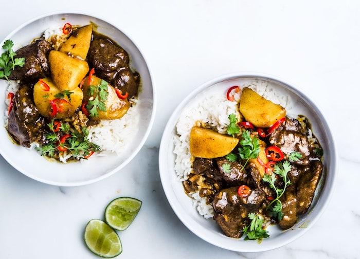 arroz con carne ternera papas perejil ideas de platos saludables y faciles de hacer arroz al curry con verduras