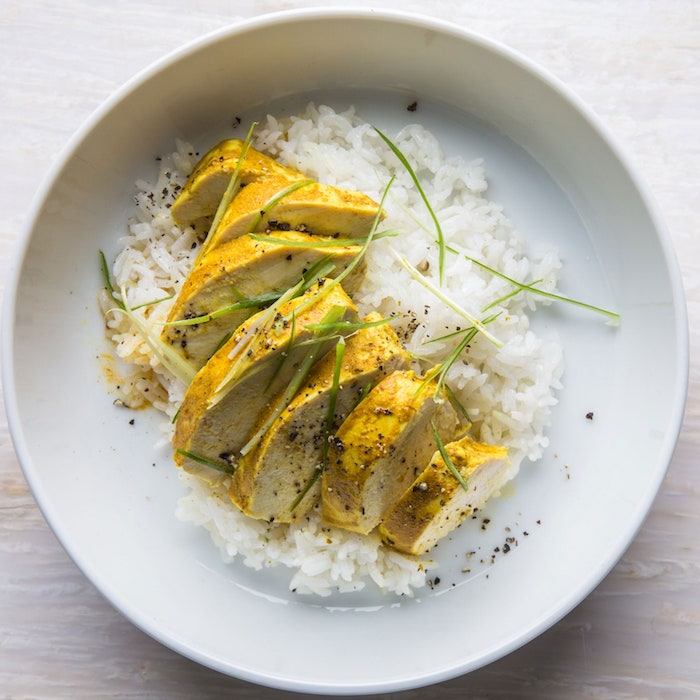arroz planco pechuga de pollo arroz al curry con verduras fotos de comidas ligeras ricas y faciles de hacer