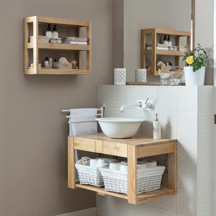 baño estanteria original ideas de muebles hechos con palets muebles de madera como hacer muebles de palets originales