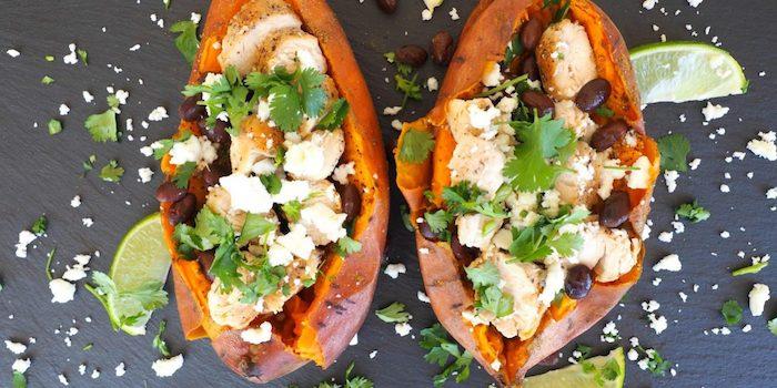 batatas receta mexicana quesos frijoles negros perejil ideas de recetas saludables