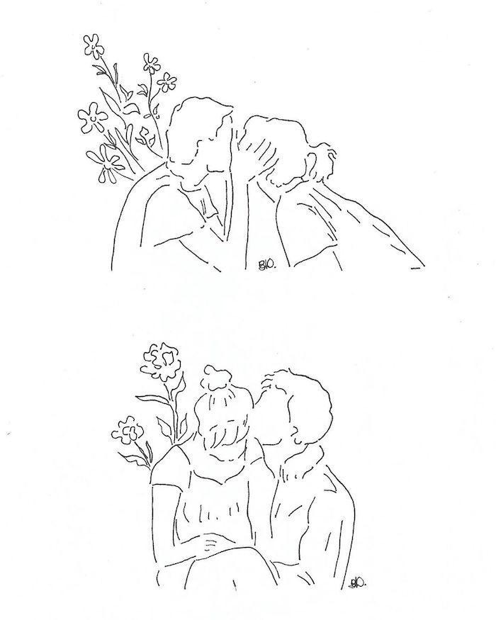 beso dibujo chulo ideas de dibujos originales en blanco y negro fotos de dibujos dibujos kawaii de amor
