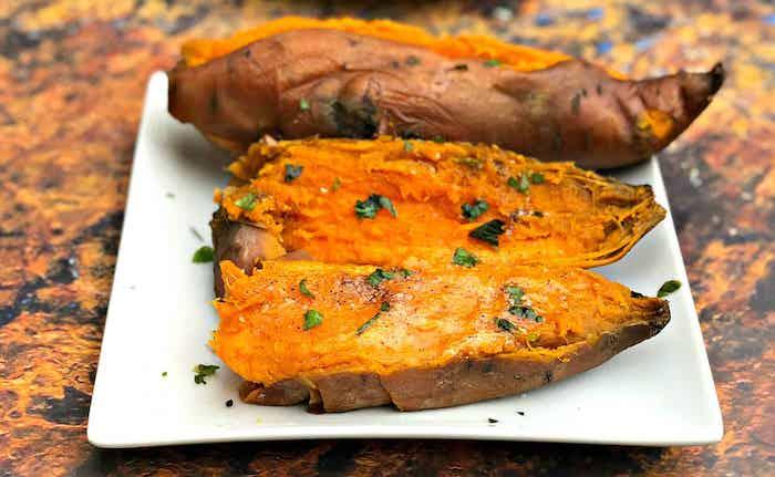boniato asado ideas de recetas simples para el verano dieta saludable fotos de cenas ligras y faciles de hacer
