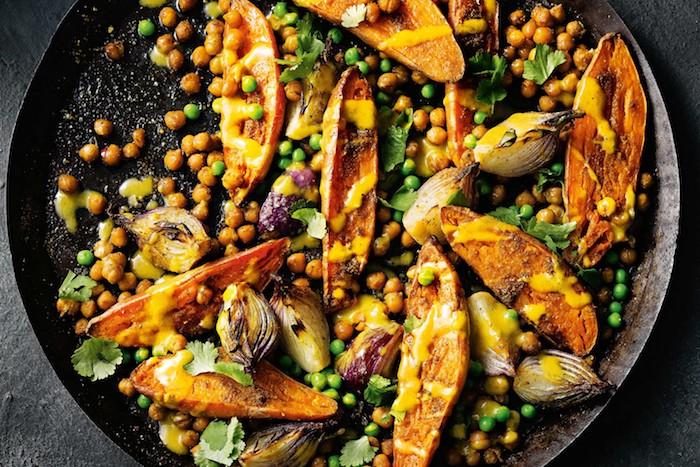 boniato garbanzos ideas de recetas caseras boniato asado originales ideas sobre como preparar boniato al horno