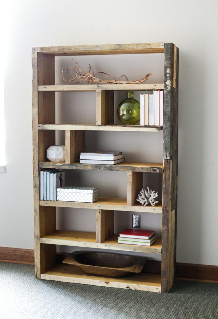 bonita estanteria de madera ideas de estantes de palets bonitos y chulos fotos de muebles con palets