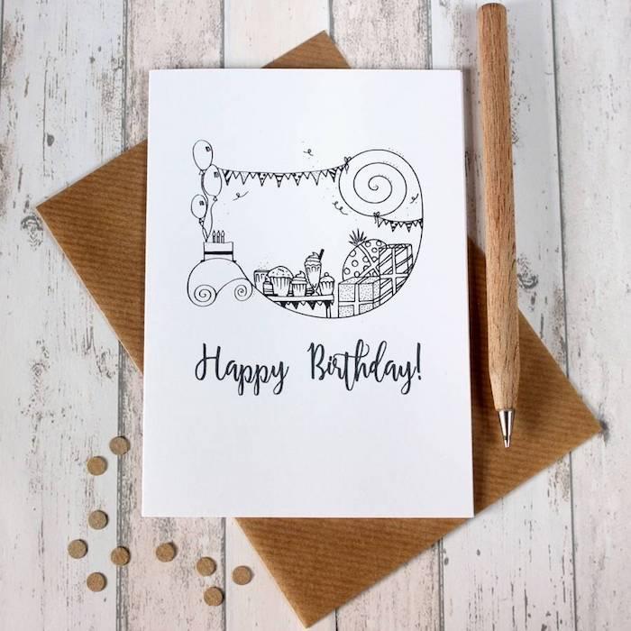 bonitas ilustraciones de feliz cumpleaños dibujos de cumpleaños para niños ideas de ilustraciones oriignales fotos de dibujos