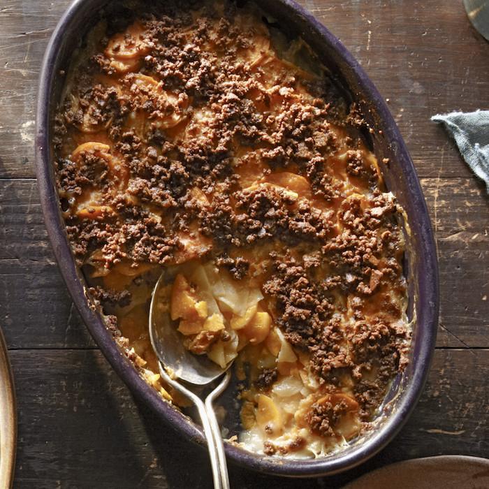 caserola con batatas boniato asado fotos de platos saludables para hacer en casa ideas de recetas