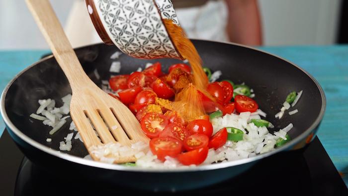 como hacer garbanzos al curry paso a paso recetas caseras originales y saludables fotos de recetas exoticas y sanas freir vegetales