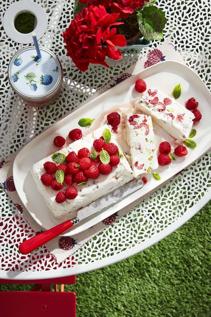 como hacer postres de verano ricos pastel con frambuesas ideas de postrs ligeros y faciles de hacer