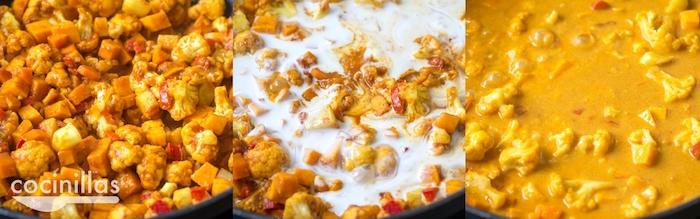 como hacer recetas con curry pollo con curry arroz ideas de recetas anacardos