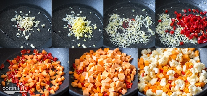 como hacer recets con curry paso a paso ideas de recetas caseras faciles y rapidas pollo arroz verduras curry