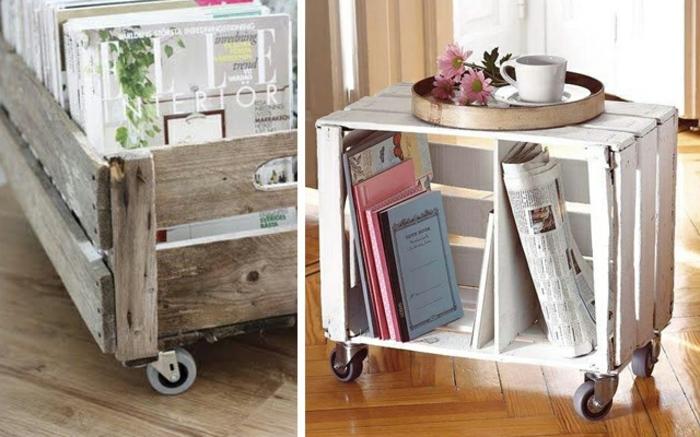 decorar con palets estanterias ideas de estantes con palets y cajas de madera fotos de muebles diy