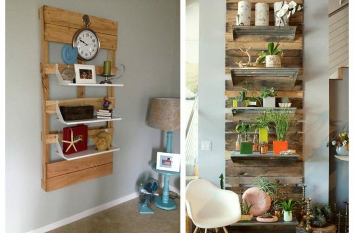 decorar la casa con detalles decorativos y muebles de palets ideas de decoracion casera con muebles de madera