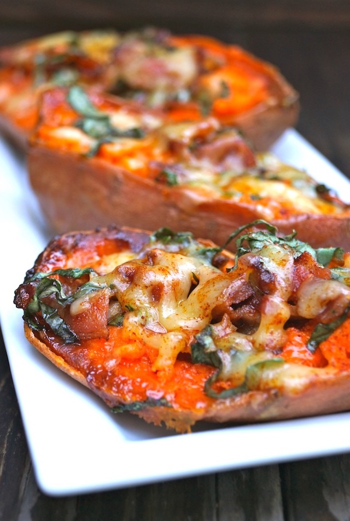 deliciosas ideas de recetas con boniato batata rellena quesos verduras ideas de recetas de papas dulces