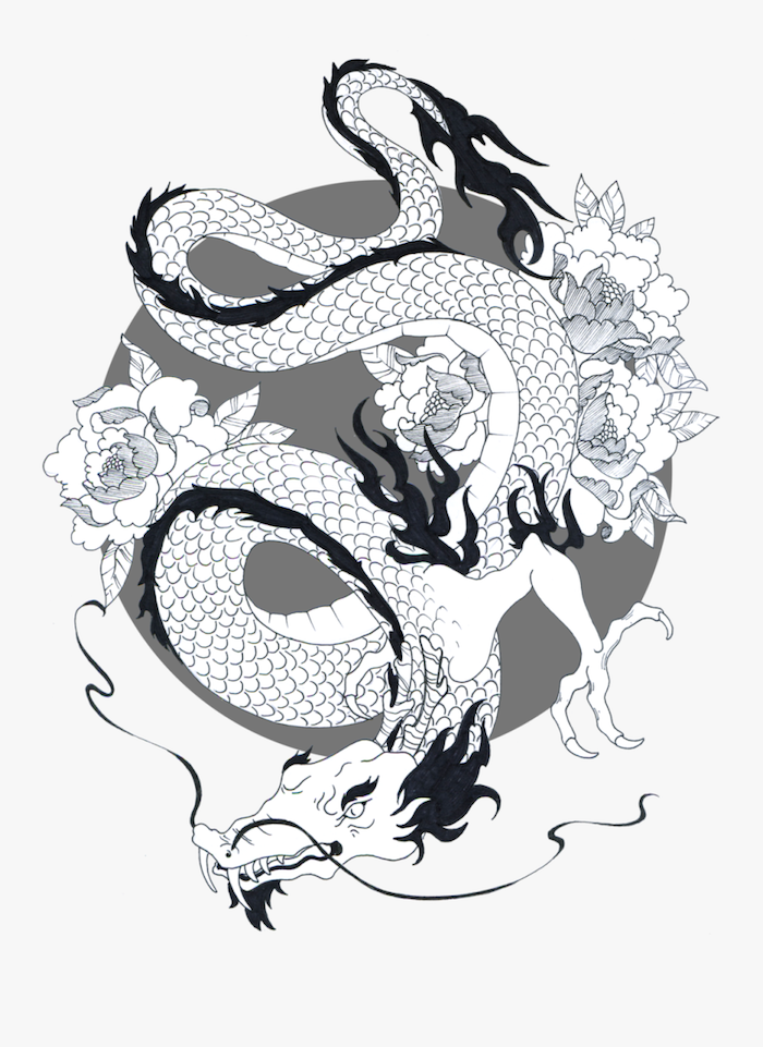 dibujo dragon ideas de dibujos faciles paso a paso fotos de dibujos en estilo japoneses