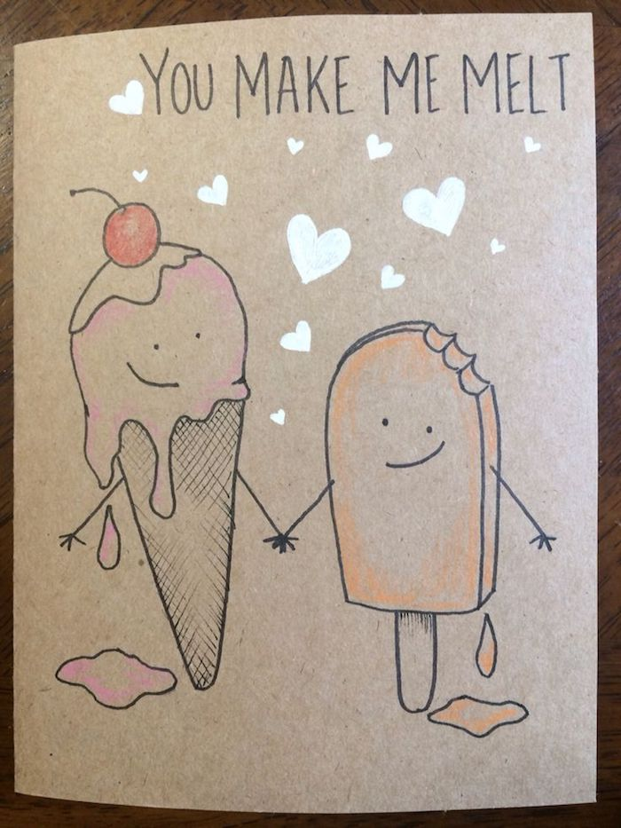 dibujos de helados enamorados ideas de dibujos de feliz cumpleaños pastel de cumpleaños