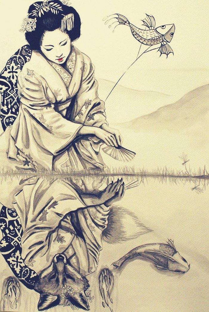 ejemplos adorables de dibujos japoneses fotos de dibujos dibujos para dibujar a lapiz ejemplos de arte japones