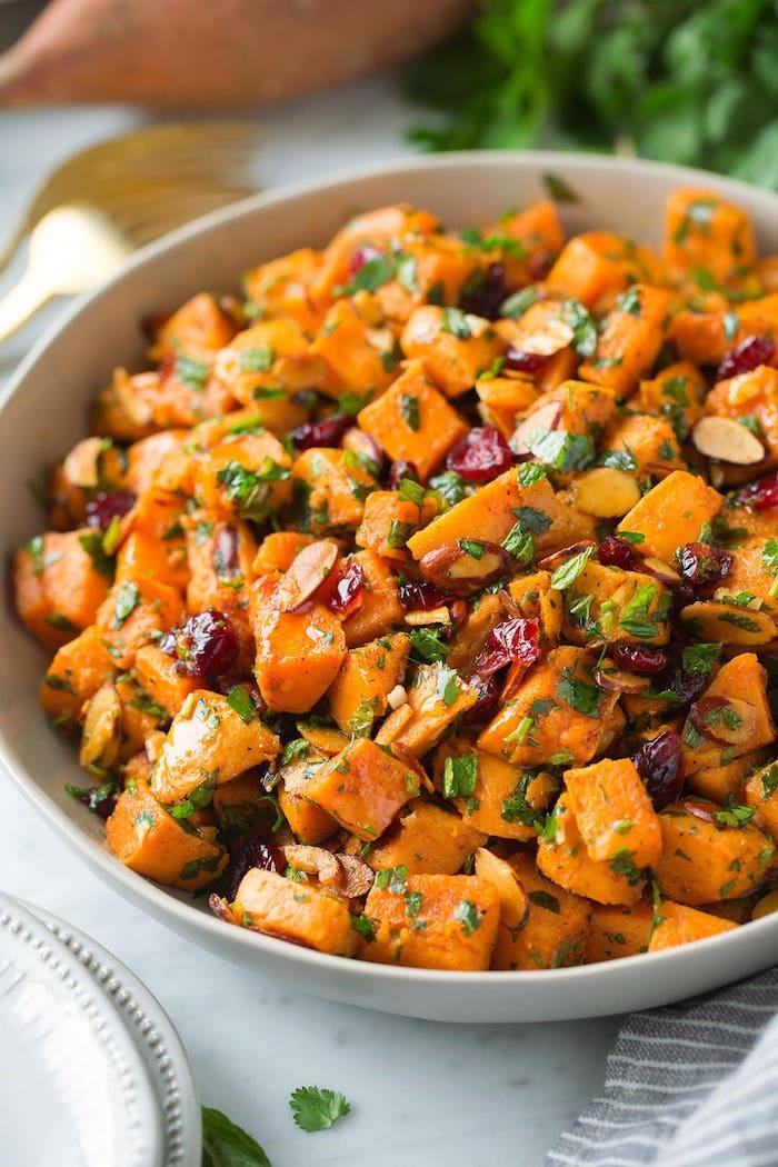 ensalada de batatas como cocinar boniato ideas de platos con batata al horno ideas de recetas originales