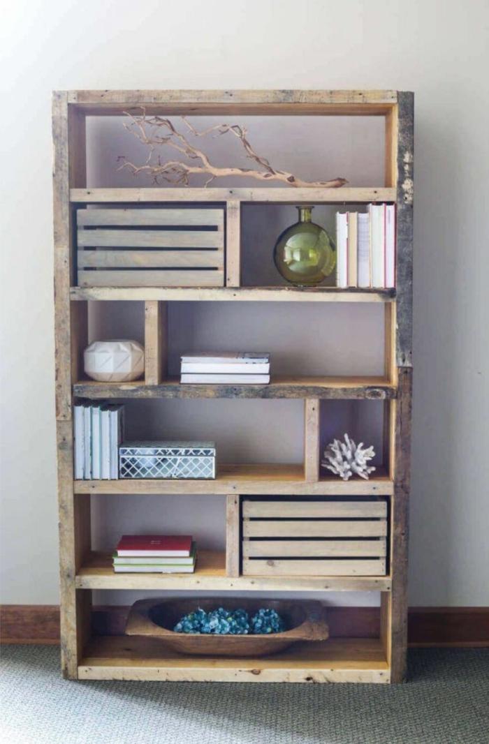 estanerias con palets bonitas y funcionales muebles hechos con bricolaje ideas de muebles diy