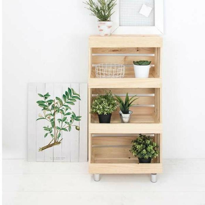 estante de madera como hacer una estanteria de palets paso a paso fotos de estanterias originales y faciles de hacer