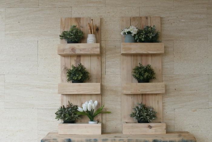 fantasticas ideas de estanterias con palets ideas chulas sobre como decorar tu casa con muebles de palets fotos de manualidades con palets