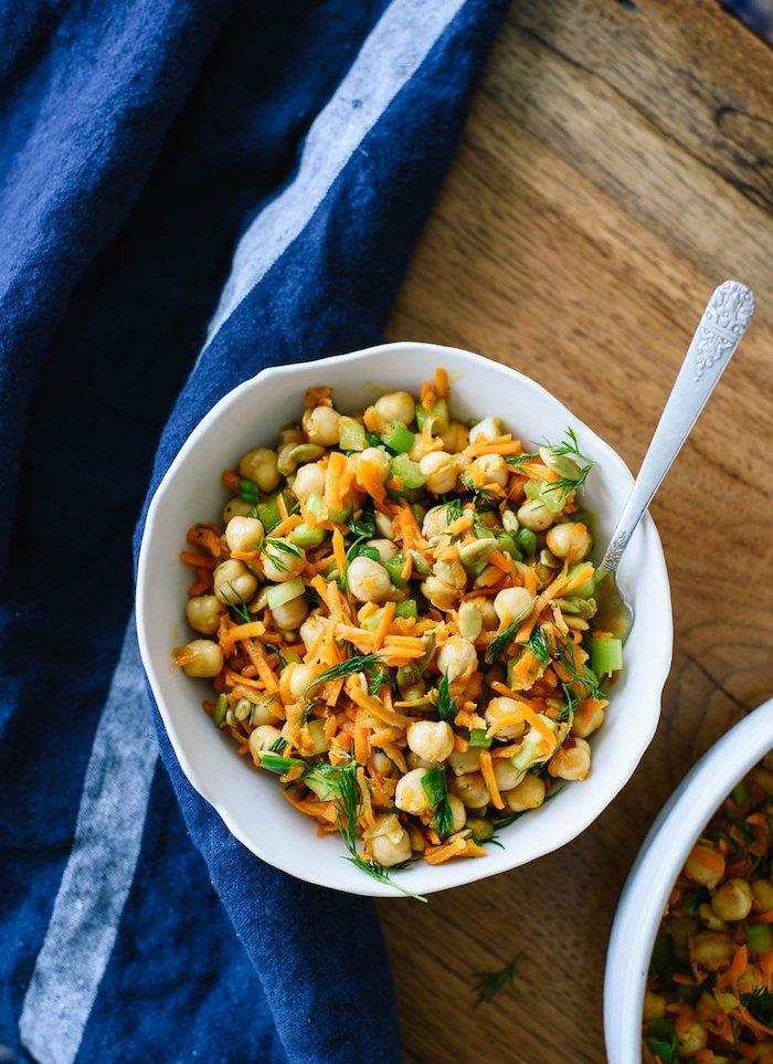 garbanzos con verduras entrantes faciles y rapidos como hacer platos ligeros cenas saludables