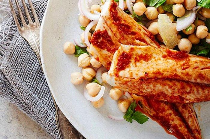 garbanzos ideas de recetas con garbanzos pescado cebolla perejil recetas faciles y rapidas