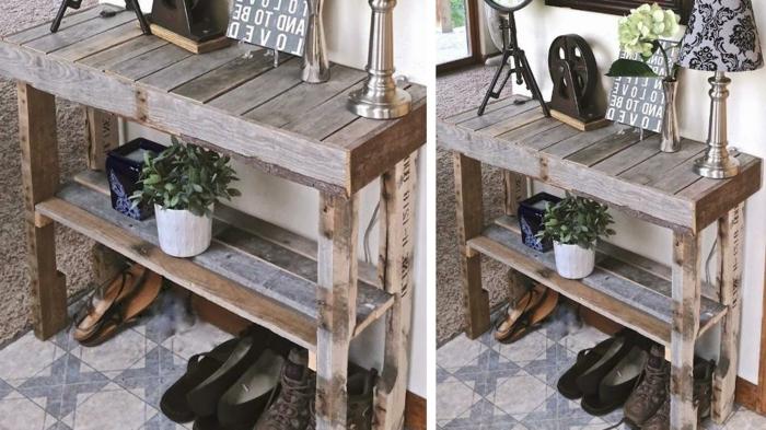 geniales ideas sobre como hacer una estanteria de madera reciclada ideas de estanterias de palets faciles de hacer