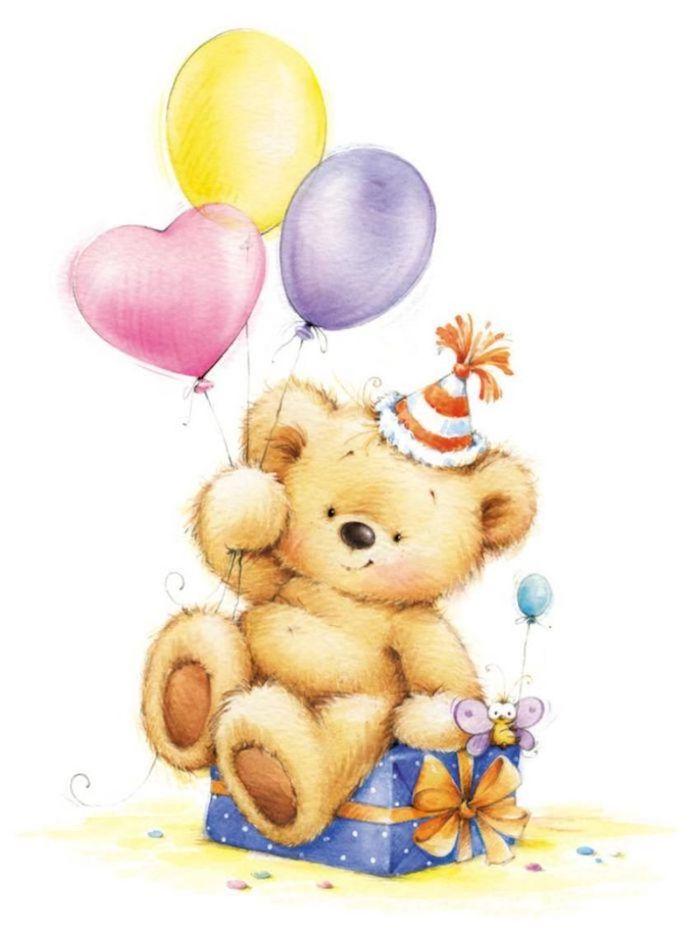 globos coloridos corazon oso ideas de dibujos chulos y bonitos fotos de dibujos pastel de cumpleaños