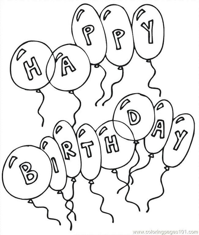 globos divertidos ideas de dibujos en blanco y negro chulos como dibujar globos feliz cumpleaños