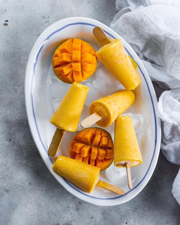 helado de mango para preparar en verano ideas sobre como hacer helado casero fotos de postres para el verano