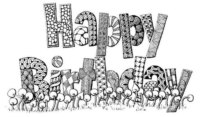 ideas de pastel de cumpleaños fotos de bonitos dibujos en blanco y negro dibujos con letras paa colorear