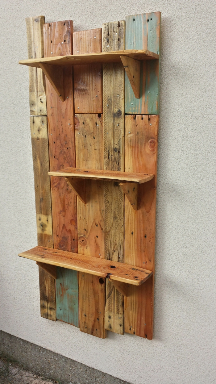 ideas sobre como hacer una estanteria con vigas de palets ideas de bricolaje
