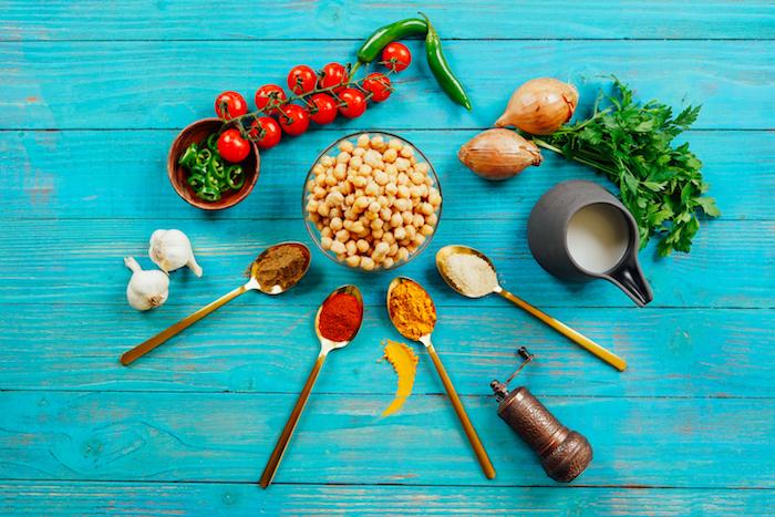 ingredientes para preparar un cocido con garbanzos con curry ideas de cenas ligeras y saludables fotos de comidas deliciosas