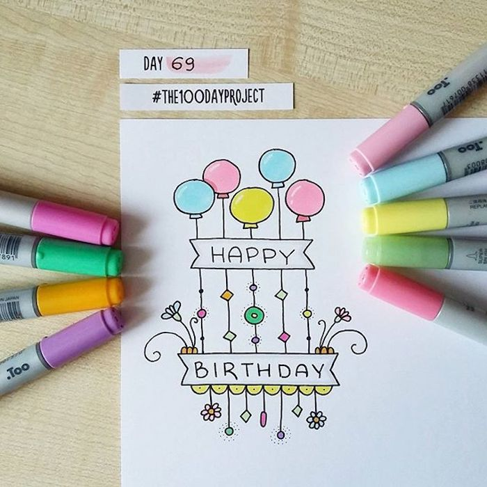 las mejores ideas de imágenes de feliz cumpleaños cosas para dibujar cumpleaños idesa de dibujos originales y bonitos fotos de dibujos chulos