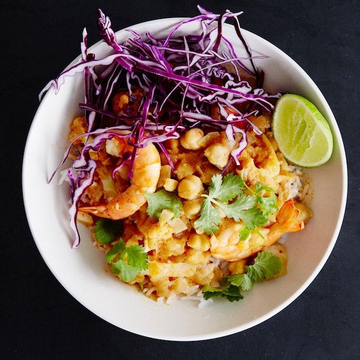 lima mariscos al curry arroz blanco platos ricos arroz al curry con verduras ideas de platos exoticos