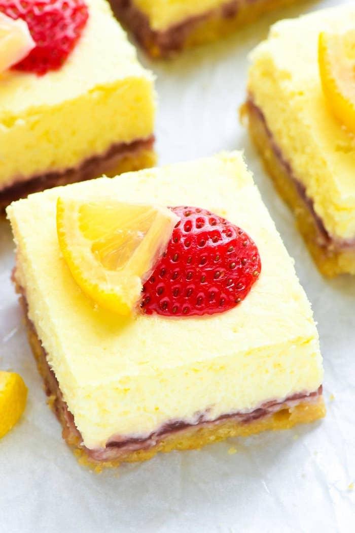 pastel con vainilla y frutas ideas de postres originales y faciles de hacer fotos de recetas originales
