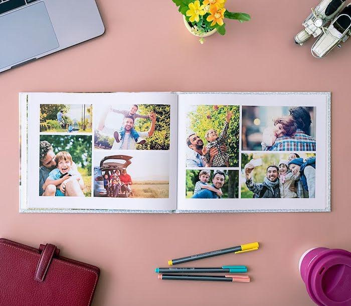 regalar un album personalizado a tus seres queridos album con fotos de familia ideas de regalos originales