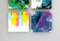 Considera un hermoso lienzo personalizado para crear el punto focal en tu decoracion