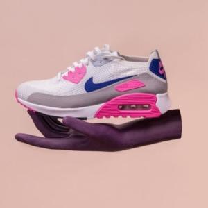 zapatillas de mujer en rosa y azul.jfif
