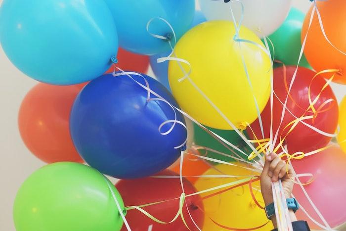 foto de globos para decoracion cumpleaños